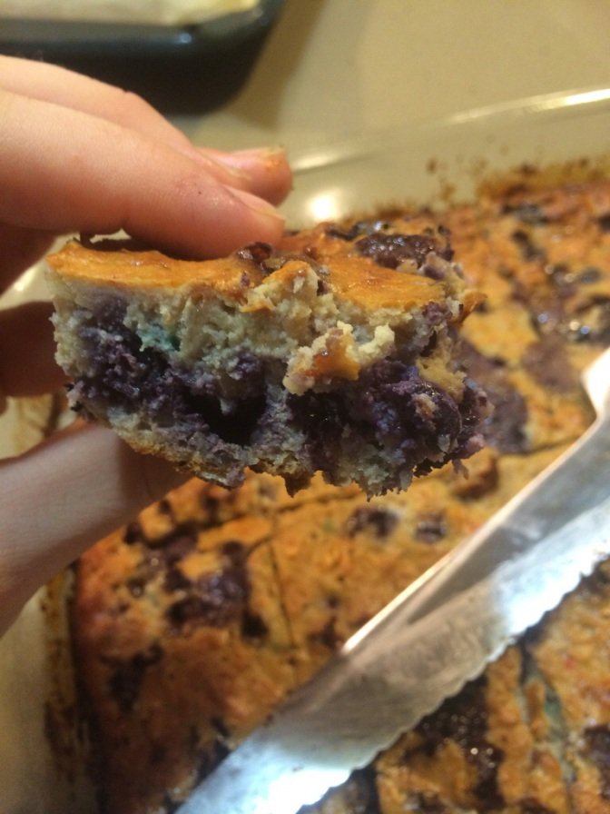 Blueberry Protein Oatmeal Bake + A Year in Review: Top 5 Recipes