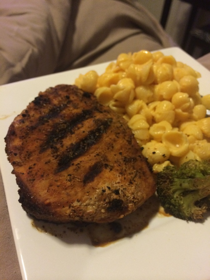 Spice-Rubbed Pork Chops + What's a Macro?